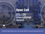 OPEN CALL: Collide International Award – reflections on art & science